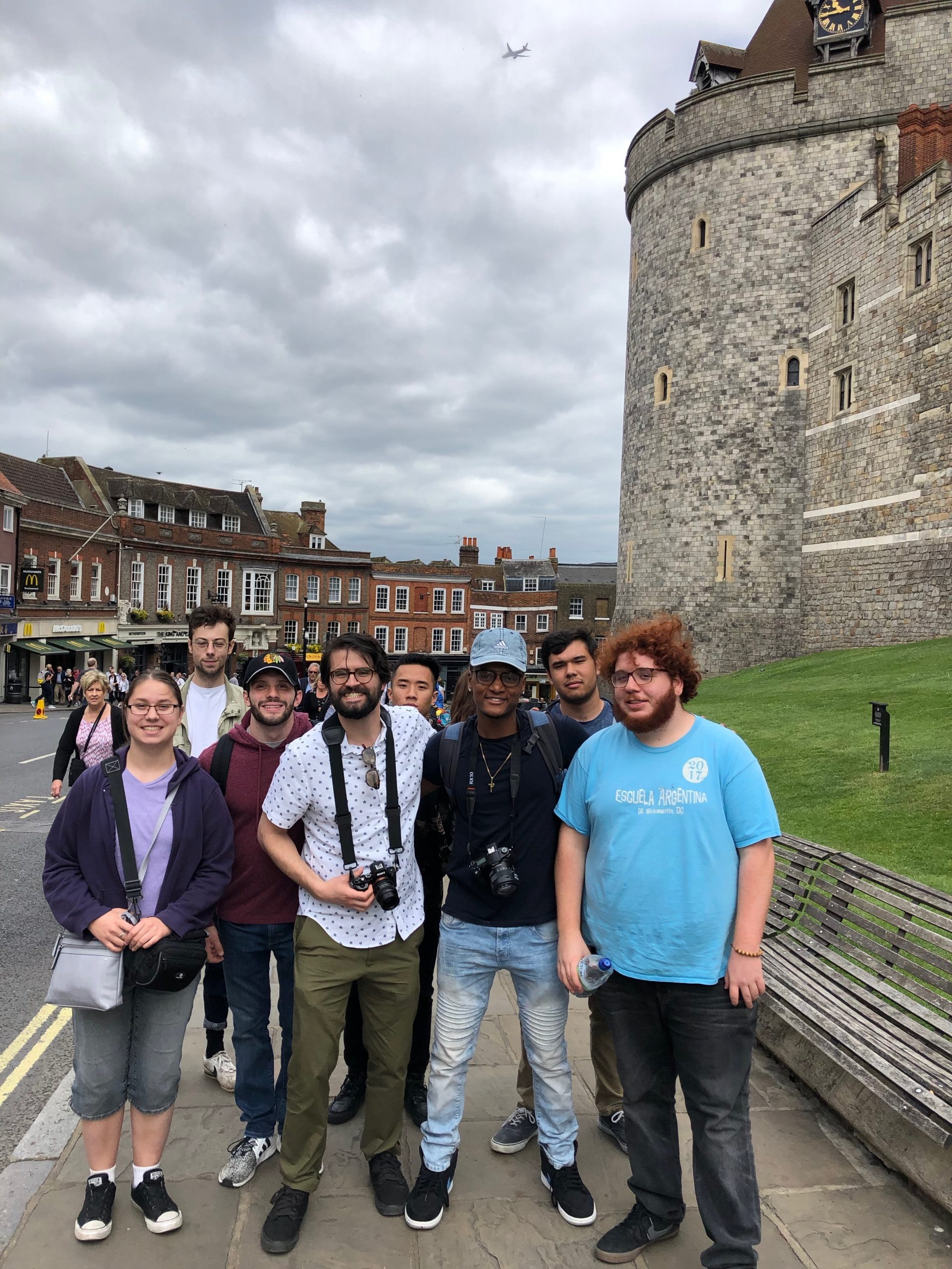 Windsor Castle | Pete & students