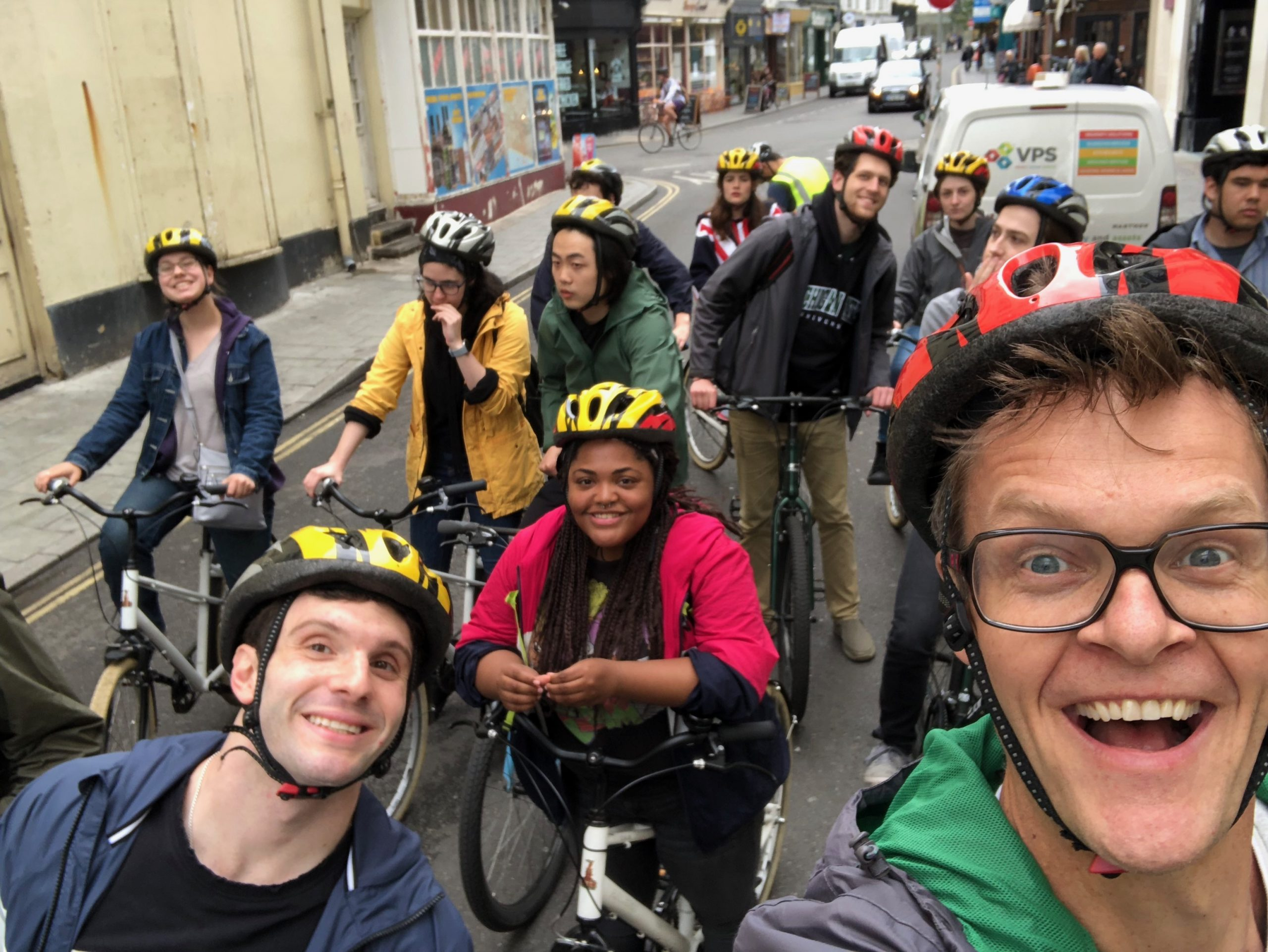 Brighton Bike tour selfie