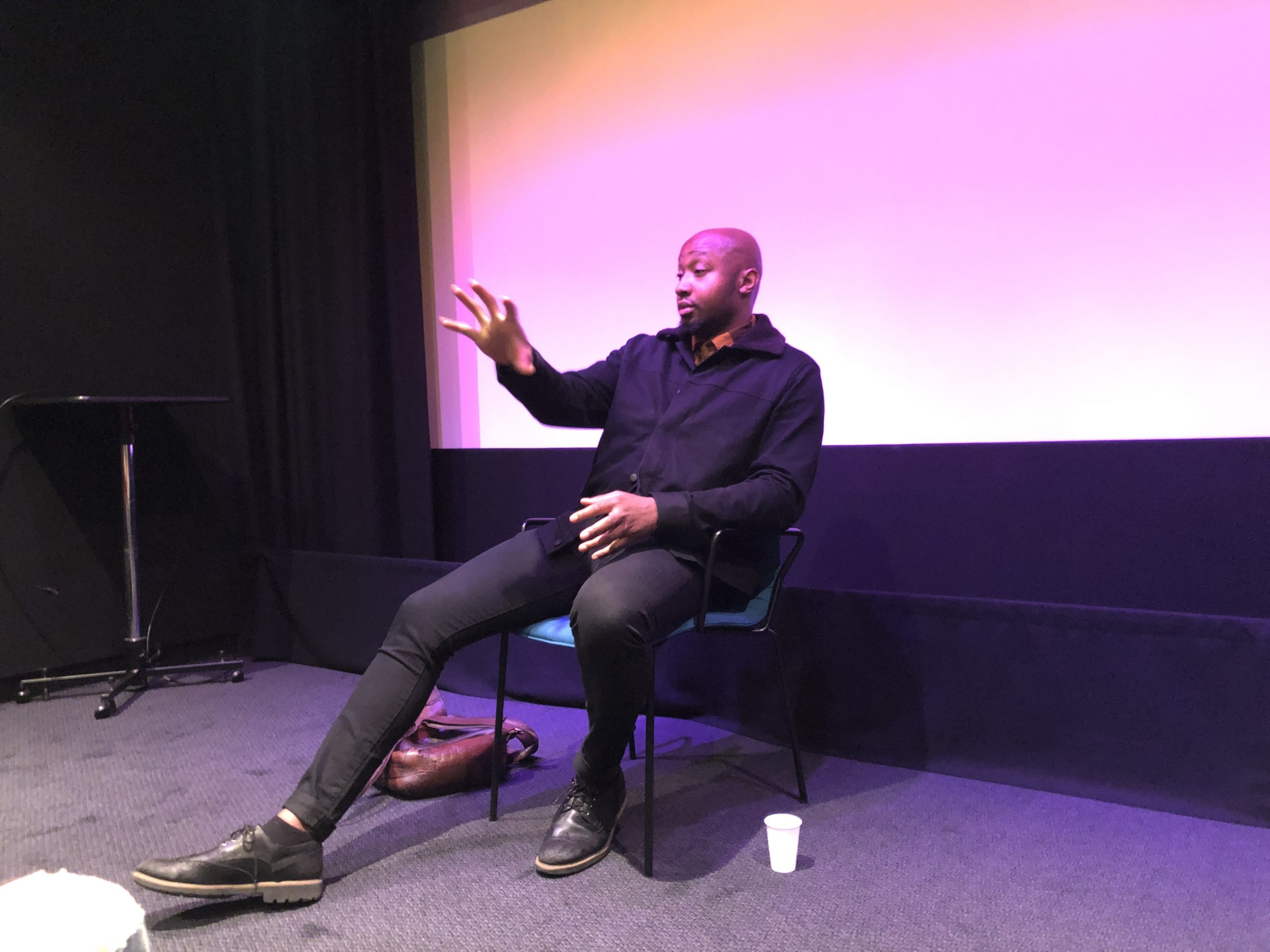 Director Shola Amoo at the BFI