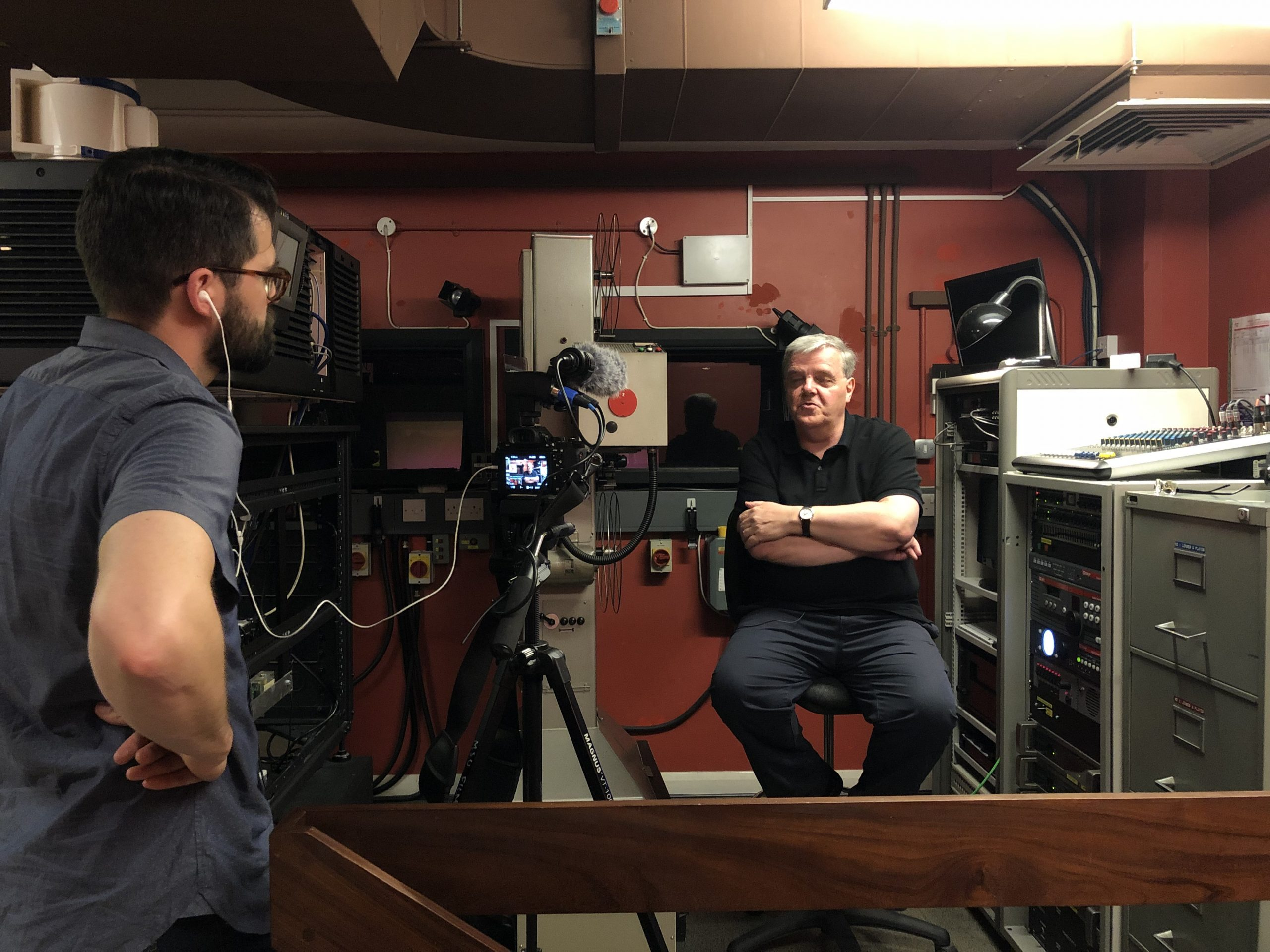 Pete interviews BFI projectionist Derek Raymond
